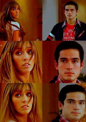 Siempre RBD ☮ - Mia & Miguel (Anahi & Alfonso Herrera) - Rebelde