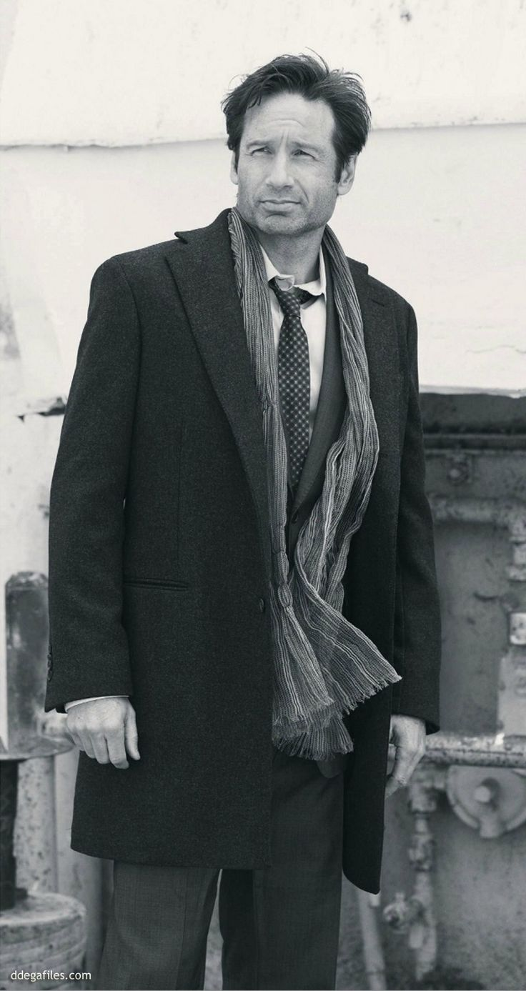 David Duchovny in Men's Book Atlanta Magazine