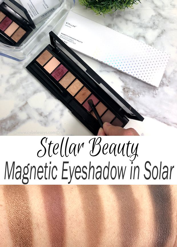 Pick up all the of-the-moment eye shadow shades in this one palette from @stellar_beauty. See pics and swatches! #beauty