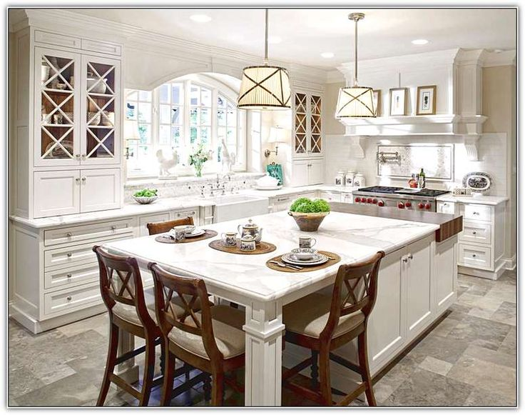 Best 25 country kitchen island designs ideas only on for Country kitchen island designs