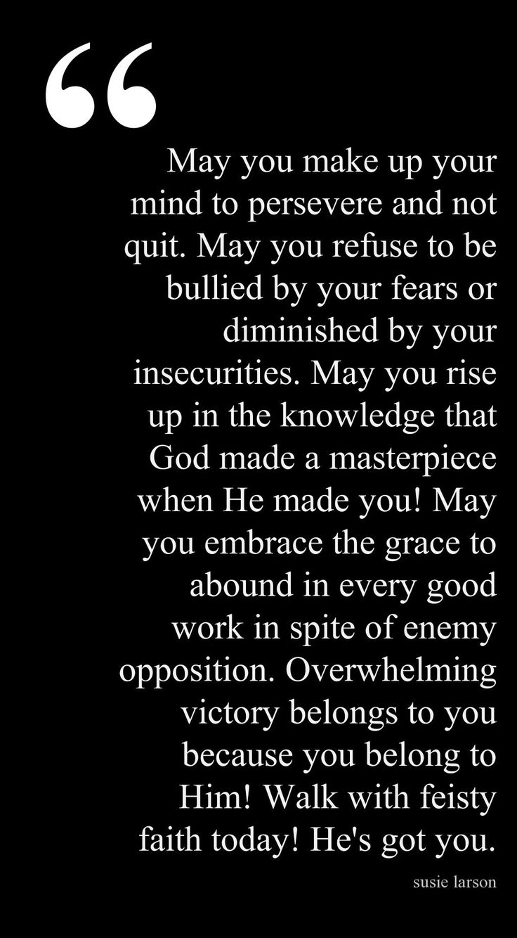I needed this today because I have quit being who I was. I was creative, ambitious and smart. Now I am my husbands PTSD dog and have no life of my own because I am afraid if I work on me. He will stray.