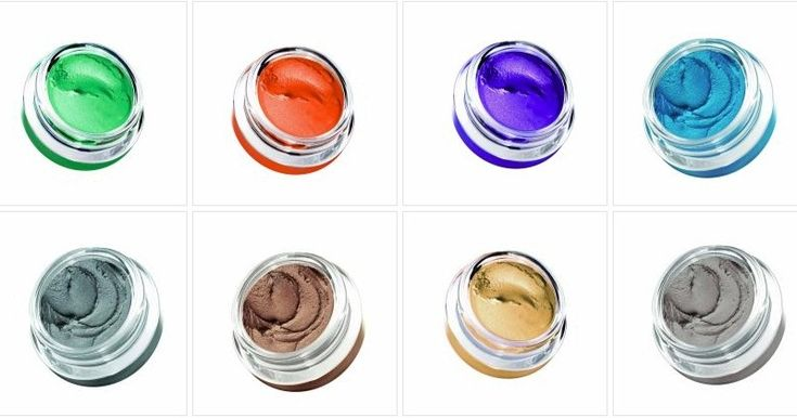 color cream based eye shadows