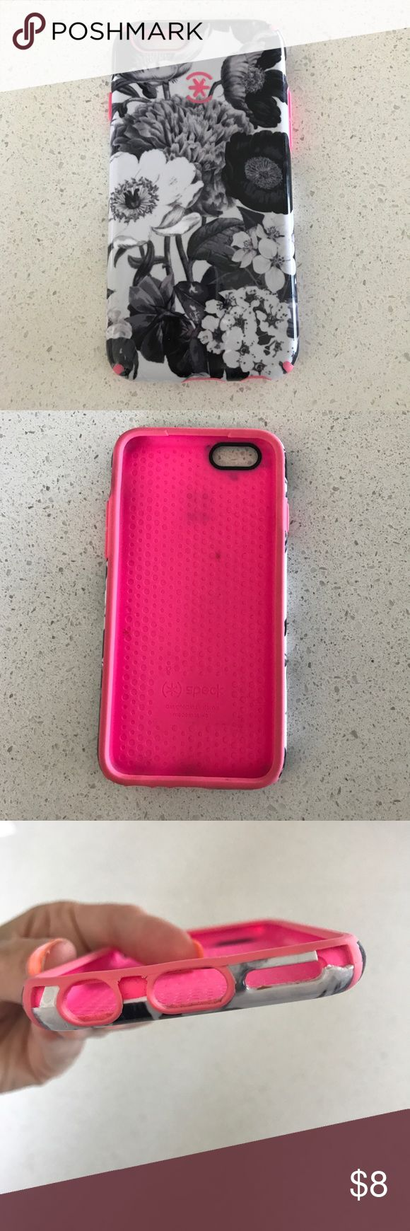 📱 SPECK iPhone 6 Case Used but still has a lot of life left. There is wear on both ends, see pictures. speck Accessories Phone Cases