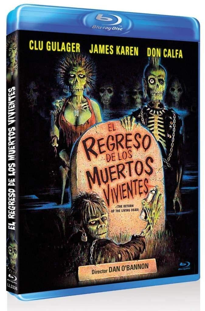 El Regreso De Los Muertos Vivientes Blu Ray De Los El Regreso Muertos Vivientes Muerte Regreso