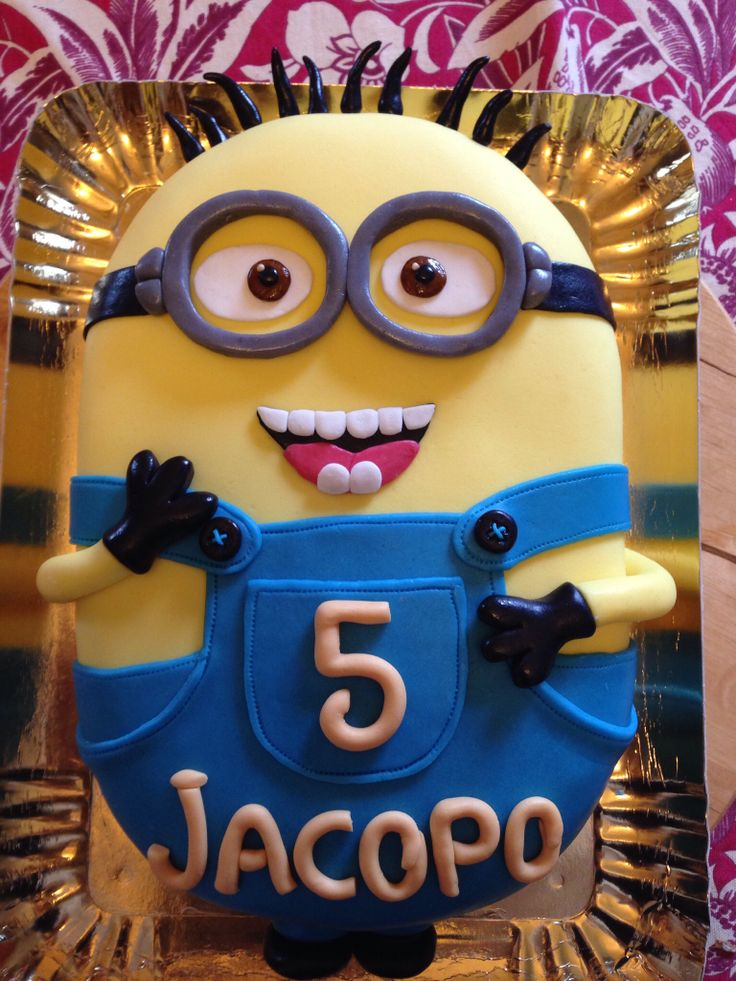 #cakedesign #minions home Made :)