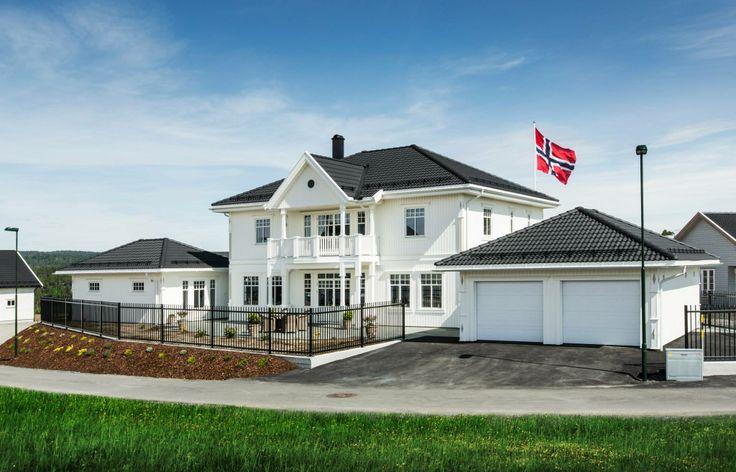Husmodellen Sagatun bygget av BoligPartner Arendal.