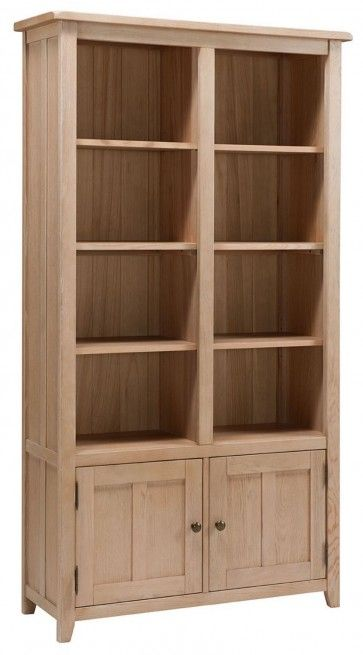 Liberty Oak Wide Bookcase 650 00