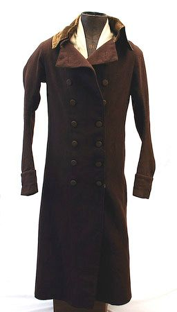 Brown Wool Greatcoat Pre 1800 The Quot He Quot In History