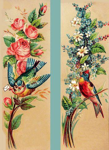 -Banner Haus News: Vintage Bookmarks