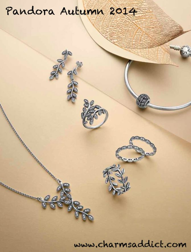 Pandora Autumn 2014  -  Love the earrings ($110.00) and ring (100.00)