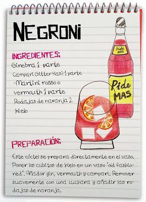 Receta cóctel Negroni - Descubre Catabox - Packs Gin Tonic y Vino - El regalo perfecto para los amantes de las cosas buenas y bonitas