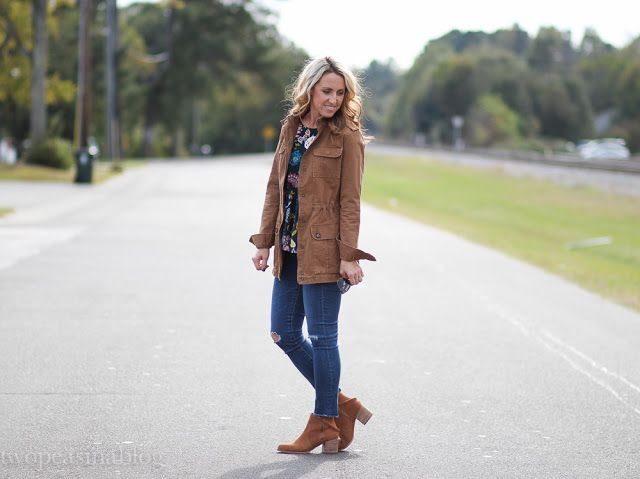 Two Peas in a Blog: Fall's must have utility jacket + 3 things on my mind