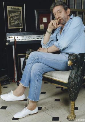 Serge Gainsbourg with Repetto Zizi shoes