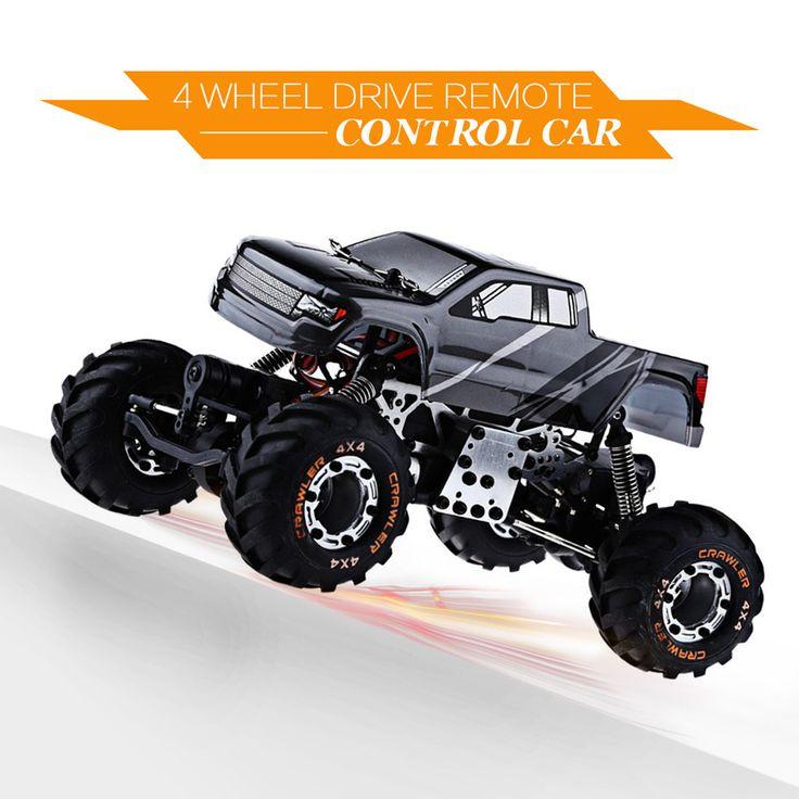Livraison Gratuite Haute Vitesse mini Toy Car 1:24 HBX 2098B 4 roues Motrices Voiture 2.4G Métal Structure D'absorption Meilleur Cadeau pour les Enfants