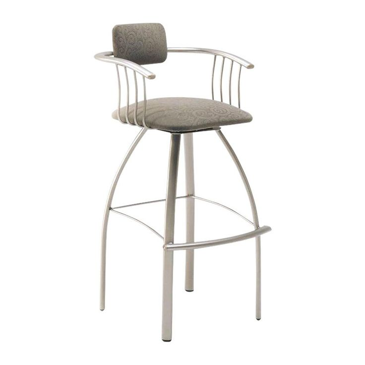 Amisco Inch Kris Swivel Extra Tall Bar Stool