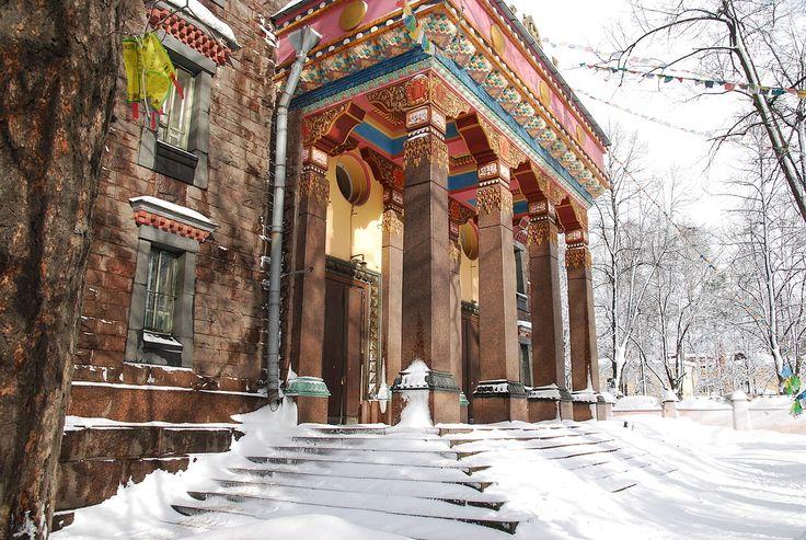 Санкт-Петербургский буддийский храм «Дацан Гунзэчойнэй», Приморский проспект, 91. Mlle Daria - собственная работа