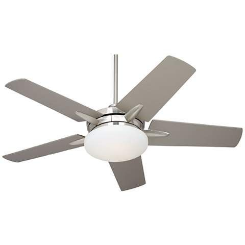"52"" Casa Endeavor Brushed Nickel Silver Ceiling Fan - #90515-X3641 