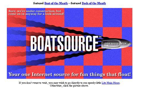 Personal website. Boatsource.