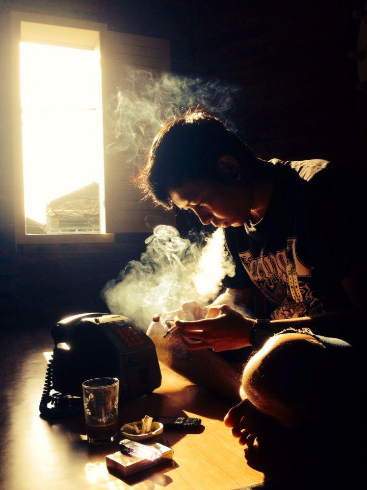 Me, Smoke, Coffee & Morning ..
