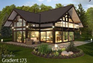 Vysněný dům: <small>dřevo, sklo a sálavé teplo</small>