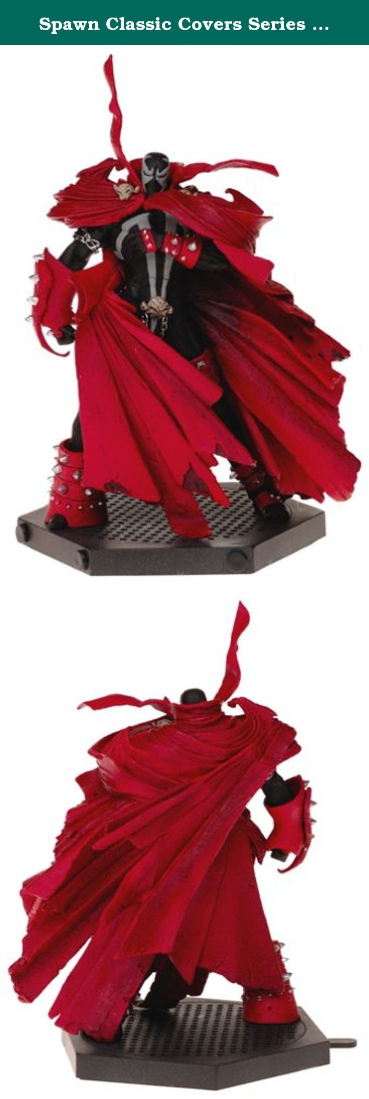 Spawn Classic Covers Series 25 Action Figure Spawn 8 by McFarlane Toys by Unknown. Spawn Classic Cover Series #25 takes up where Series #24 left off, expanding on the theme of comic book artwork as action figure. While the initial foray stuck with the core Al Simmons Hellspawn, Series #25 features other popular characters from the Spawn mythos. The Spawn 8 figure measures 7 tall and comes with a mini comic book cover and stand.