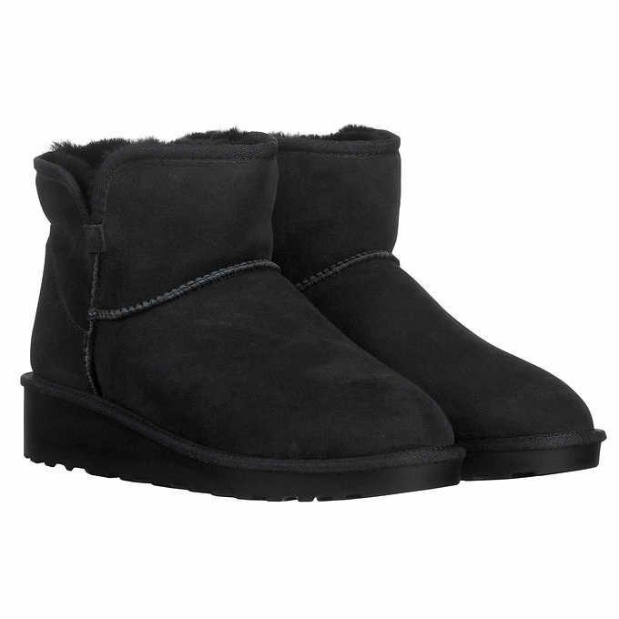 a8006e3d1e6 Kirkland Signature Ladies' Short Shearling Wedge Boot | clothes ...