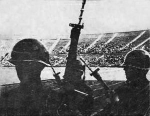 1973: A violent coup on September 11 overthrows Chile's Marxist president Carlos Allende, who reportedly takes his own life. A military junta names as president Gen. Agusto Pinochet, who vows to exterminate Marxism from Chile and begins a repressive 16-year rule.