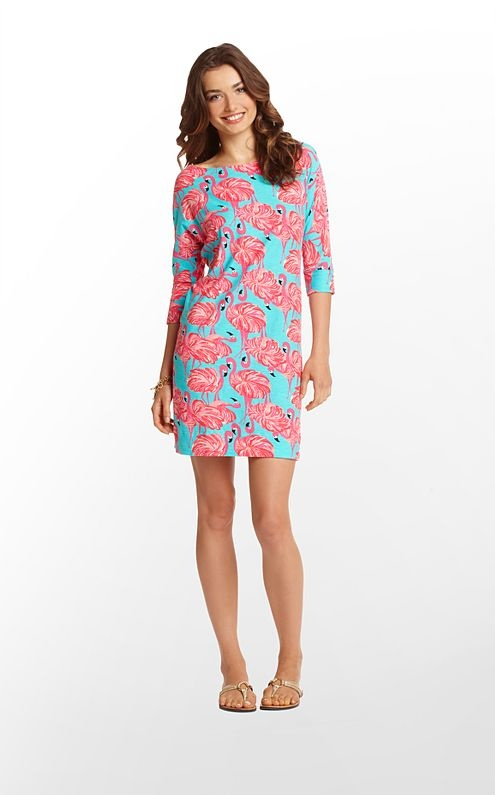 Cassie Dress. Lilly. Flamingos. 'Nough said.