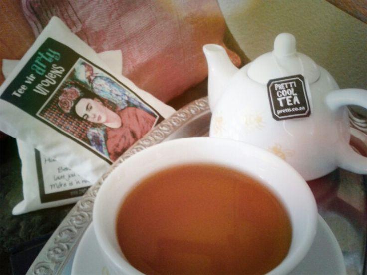 Tea for arty women