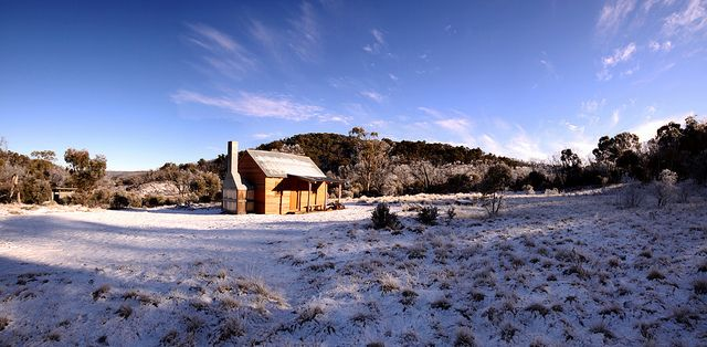 Delanys Hut, off the Snowy Mountains Hwy between Tumut and Cooma, N.S.W.
