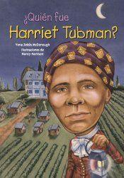 Biografías Infantiles Harriet Tubman fue una luchadora por la libertad de los afroamericanos. Tras escapar de la esclavitud, realizó misiones de rescate en las que liberó  esclavos utilizando la red antiesclavista conocida como ferrocarril subterráneo