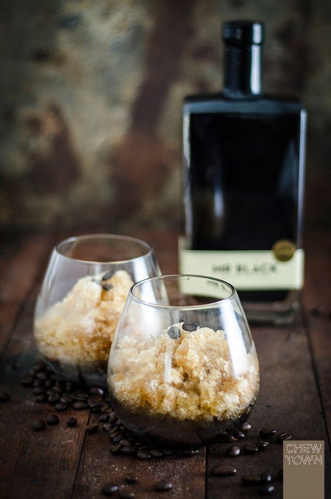 Espresso Martini Granita Recipe | Chew Town Food Blog