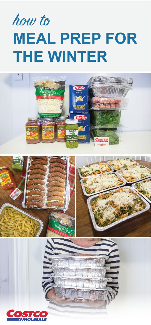 With the new year here, kitchen hacks that help make your life easier are always a good idea! Check out this guide for winter meal prep to get your hands on a flavorful menu solution made with Kirkland Signature™ Basil Pesto & Mozzarella Cheese. Without breaking the bank you can find everything you need to make this Baked Spinach & Sausage Penne Pasta recipe—and have a freezer meal swap with friends—by shopping at Costco. Feeding a busy family & getting your life organized has never been…