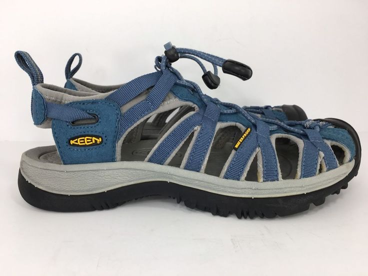 Keen Whisper Womens Sport Sandal Waterproof Blue Size 8 US 38.5 EU   | eBay