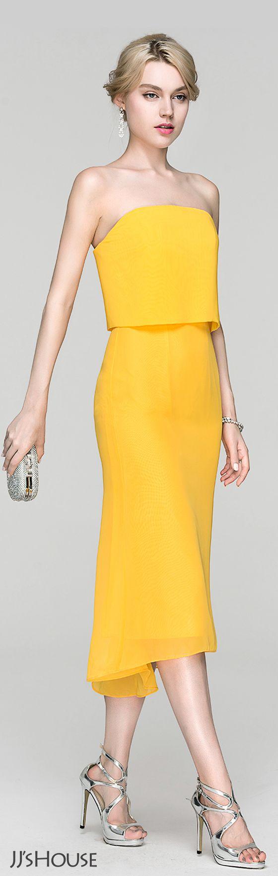 Tube or column silhouette. #JJsHouse #Cocktail