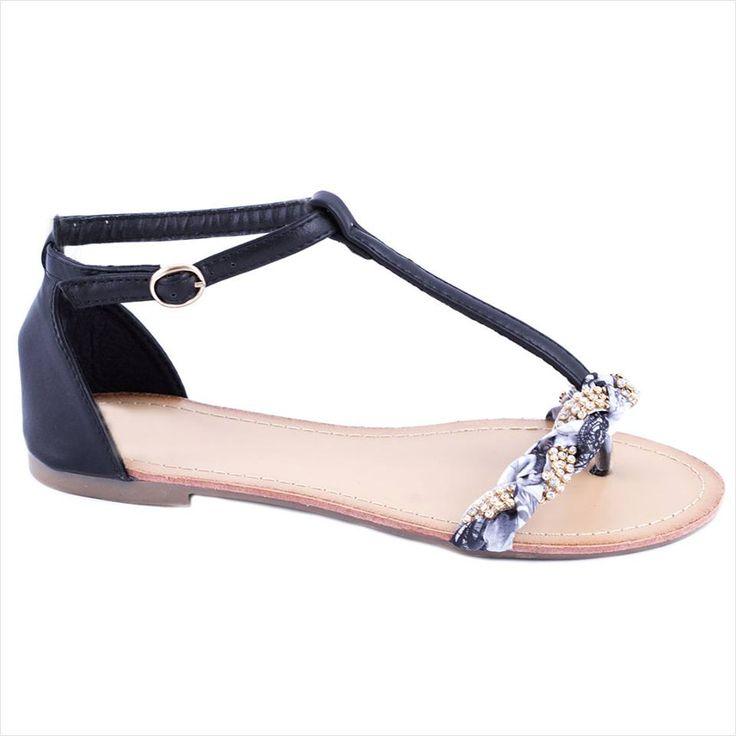 Sandale dama cu bareta LS02N - Reducere 50% - Pret 29.99 lei - Zibra
