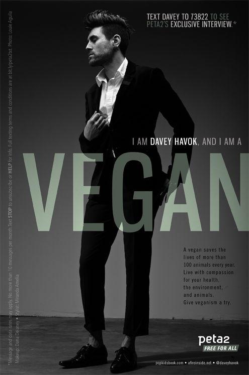 davey havok vegan psa.  He's so yummy