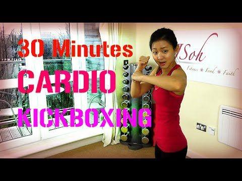 30 Minutes Cardio Kickboxing to Burn Calories