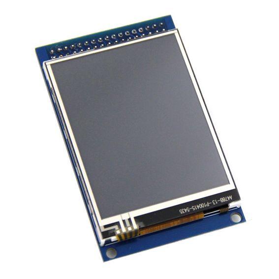 送料無料2.8インチtftタッチlcdスクリーンディスプレイモジュールarduinoのuno r3高品質