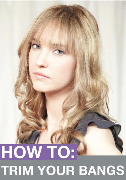 styles to cut your hair how to trim your own bangs bangs hair style and hair makeup 2153