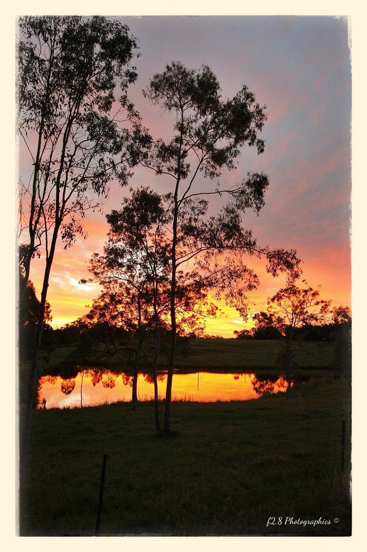 Sunset on reflection ......