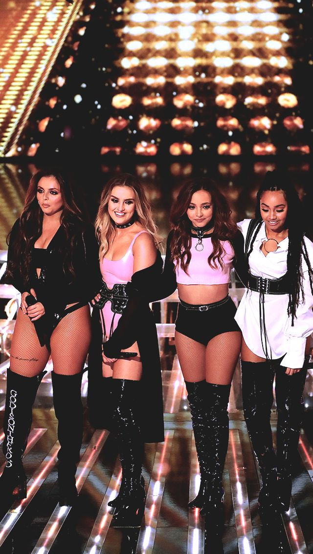 They make me want to buy a pair of thigh high boots. Little mix X factor.