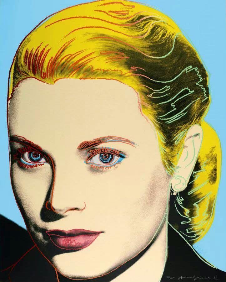 Grace Kelly Andy Warhol