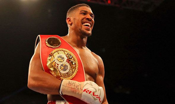 Anthony Joshua talks up Deontay Wilder fight after defending IBF title
