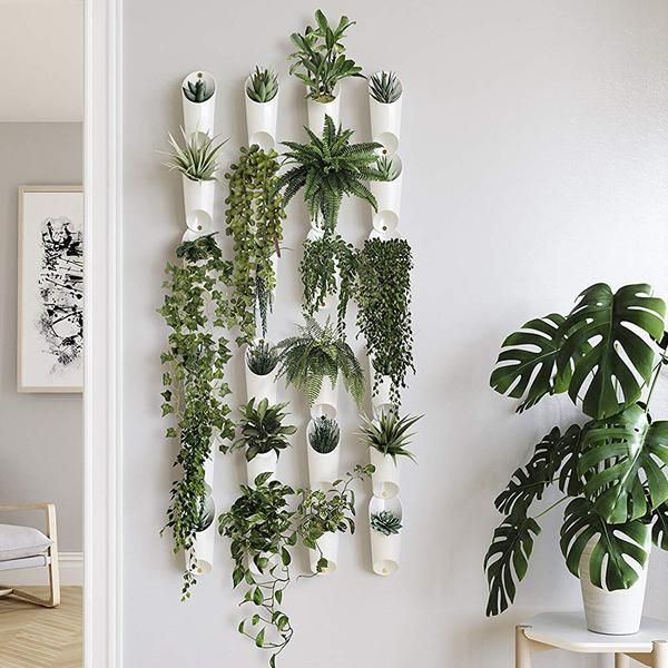 Floralink Living Wall Vessel White Wall Plants Indoor Plant