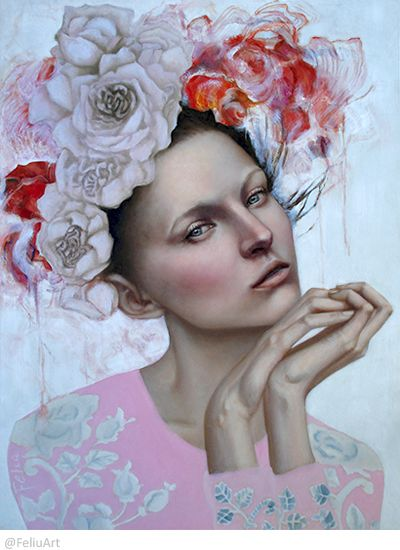 I'll never know – oil on canvas, 60x80Cm. Instagram: @FeliuArt