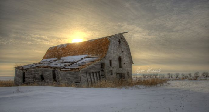 """Winter's Barn,"" Ryan Wunsch, Leader, Saskatchewan"