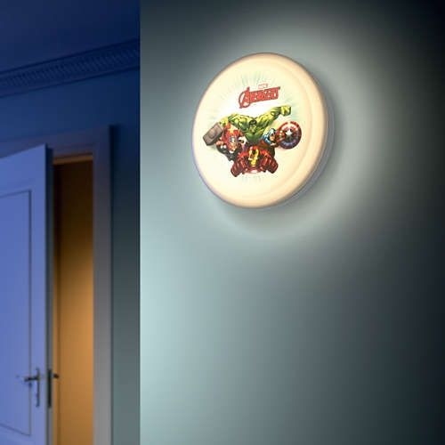 Plafond-/ wandlamp lamp Philips Disney Avengers 7188435P0 - Disney nieuwe collectie - Lamp123.nl