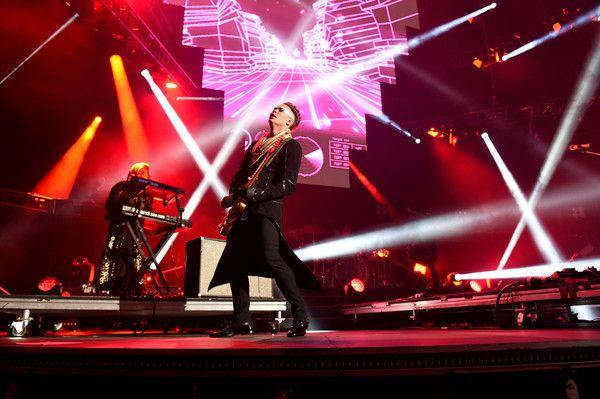 Luke Steele Photos Photos - Recording artist Luke Steele of music group Empire of the Sun performs onstage at KROQ Weenie Roast 2016 at Irvine Meadows Amphitheatre on May 14, 2016 in Irvine, California. - KROQ Weenie Roast 2016