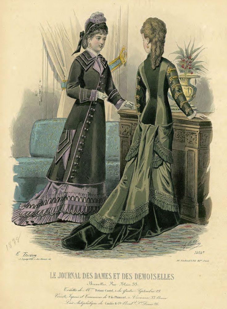 1878 - Le Journal des Dames et des Demoiselles